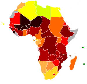 measles in africa, vaccination africa, measles